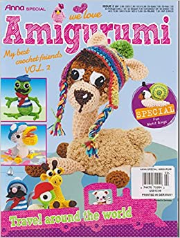 Amigurumi Crochet Magazine : We Love Amigurumi Magazine # 2 Anna Special: Amazon.com: Books