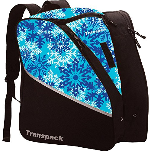 Edge Junior Ski Boots - Transpack Edge Junior Ski Boot Bag 2018 - Aqua Snowflake