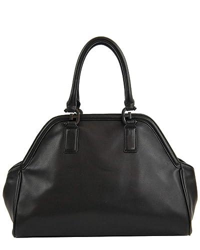 84710b65c0b9 Amazon.com  Sam Edelman Women s Noely Bowling Bag Satchel Black One Size   Shoes
