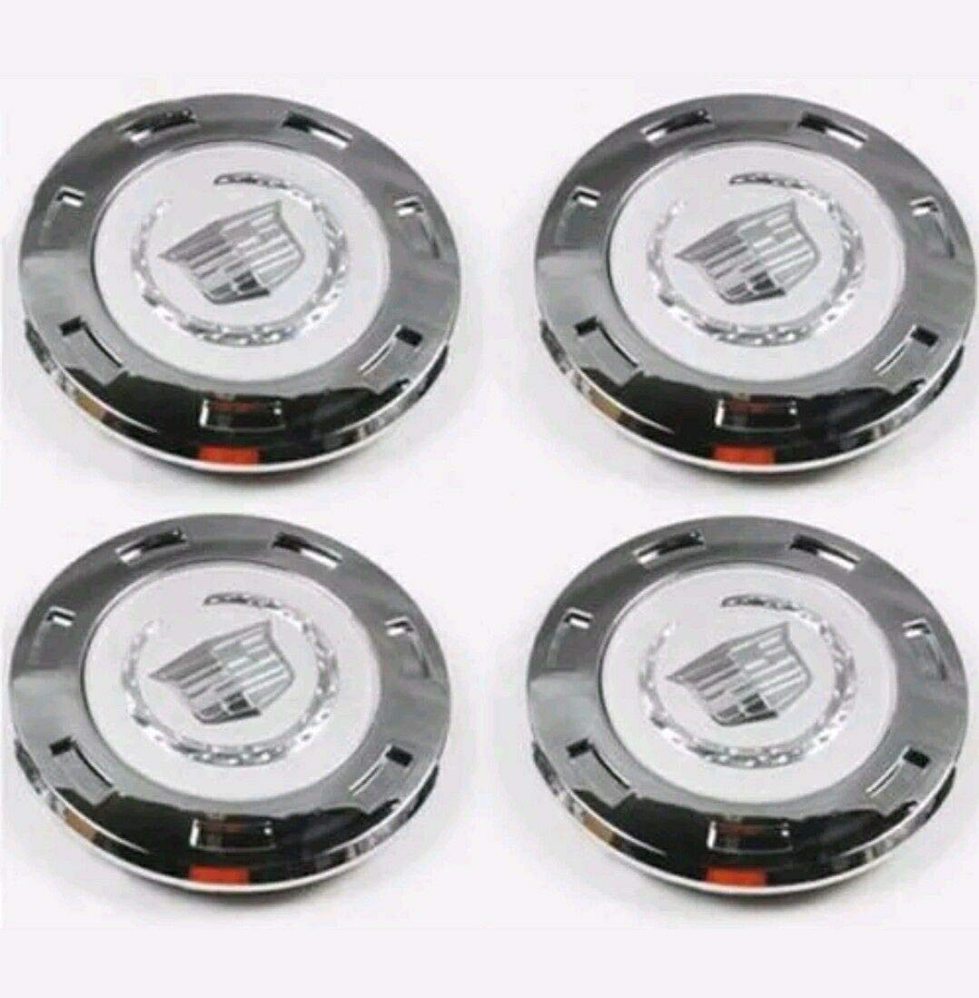 C/&B 4X Set of 4 Pieces 200mm Hubcaps Chrome Silver Modified Wheel Center caps hubcaps for 2007-2014 Cadillac Escalade 22 Wheel Center CAPS 9596649 US Fast Shipment