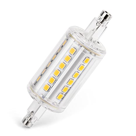 5W 2835 lámpara regulables R7s 36 LED x LED Albrillo 78mm Yyvfb67g