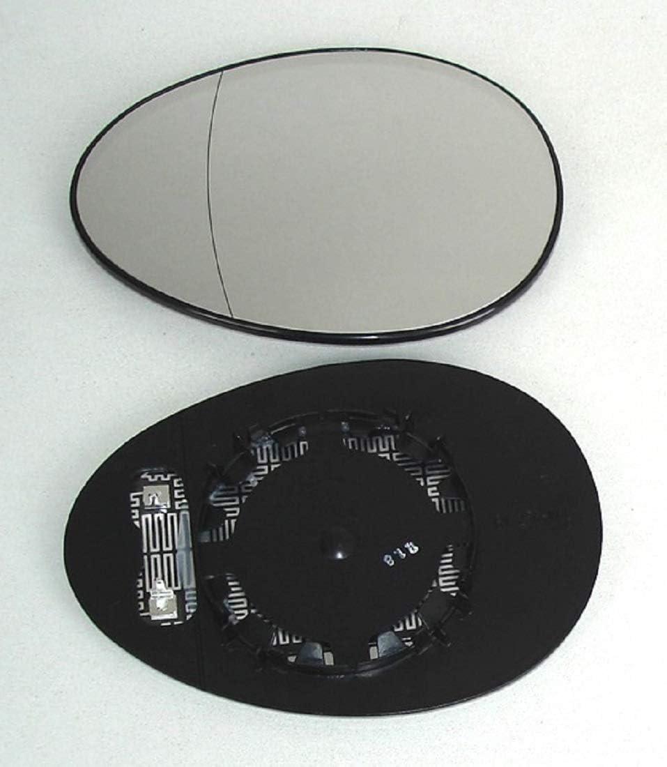 Specchio Vetro Specchietto Sinistro pro Carpentis Compatibile Con R56 R55 R57 da Anno Costruzione 10//2006beheizbar Per Specchio Esterno Elettrico E Manuale Regolabile Idoneo