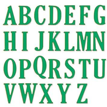 Cuchillo Forma Flor, beikoard 5 cm grandes Alfabeto Letras ...