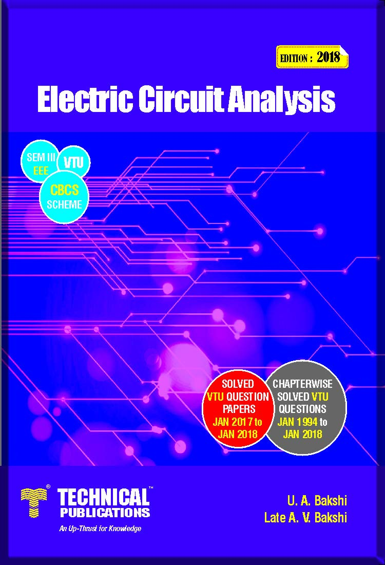 Buy Electric Circuit Analysis For Vtu Sem Iii Eee Cbcs Questions Scheme 2015 Book Online At Low Prices In India