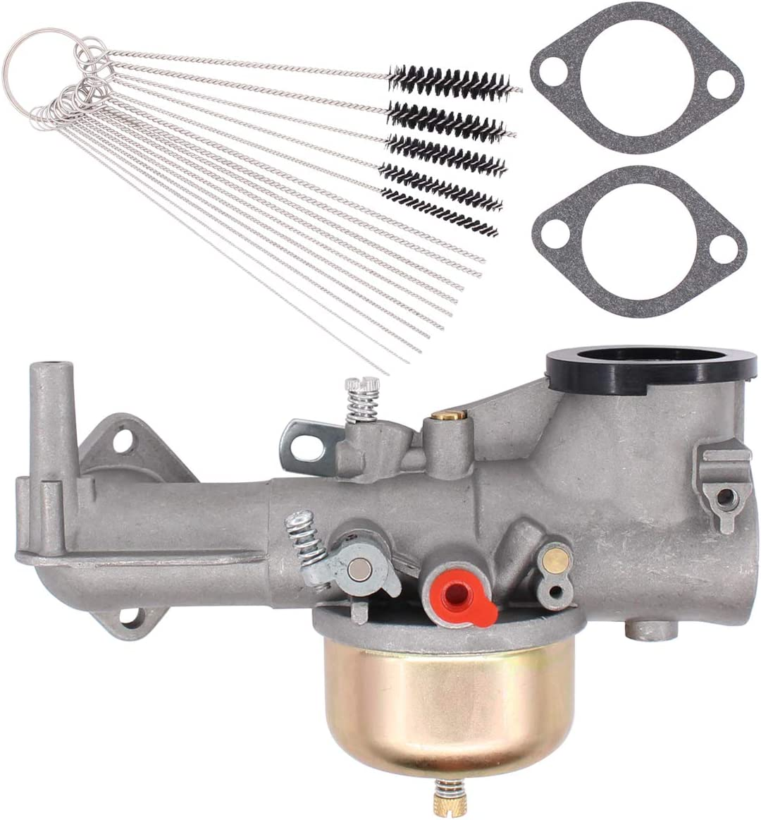 ApplianPar 491590 Carburetor Kit for Carb 390811 392152 191700 192700 193700 Engines with Gaskets and Cleaning Brush Tool kit