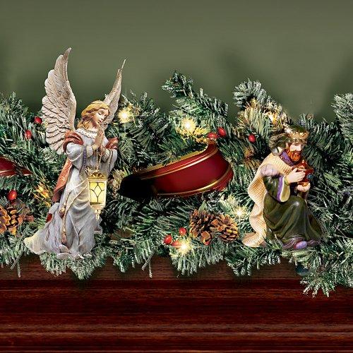 Thomas Kinkade Nativity Garland Set by Hawthorne Village by Hawthorne Village (Image #2)