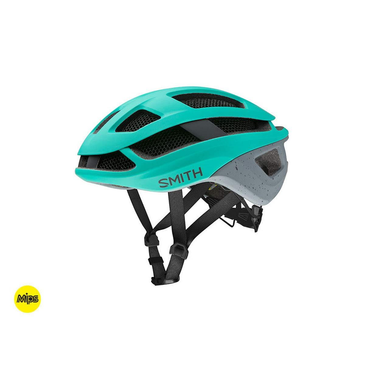 Matte Jade Charcoal Large Smith Optics Trace MIPS Adult MTB Cycling Helmet