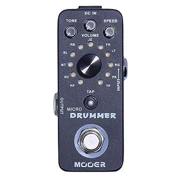 Mooer Micro Drummer - Pedal de efectos para guitarra