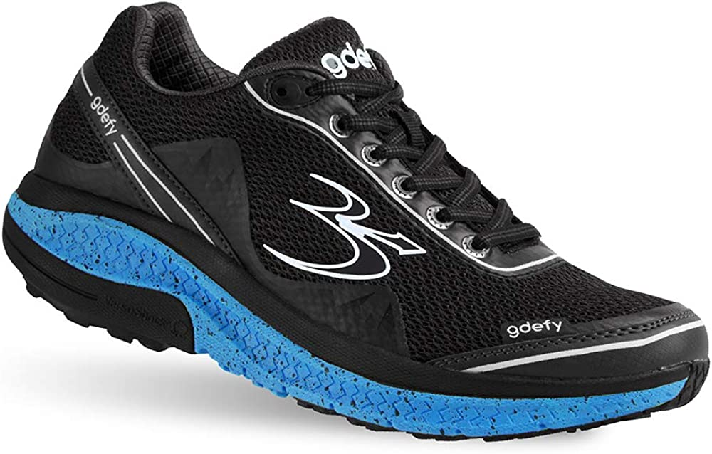 Foot Pain Gravity Defyer Proven Pain Relief Mens G-Defy Mighty Walk Plantar Fasciitis Shoes for Heel Pain