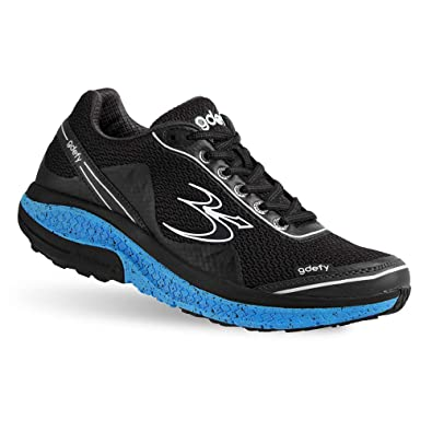 89ad9196afa26 Gravity Defyer Proven Pain Relief Men s G-Defy Mighty Walk Black Blue Athletic  Shoes 8