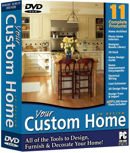 Your Custom Home Dvd Rom Software Computer Software