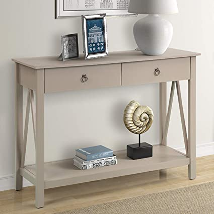 Amazon Com P Purlove Console Table For Entryway 42