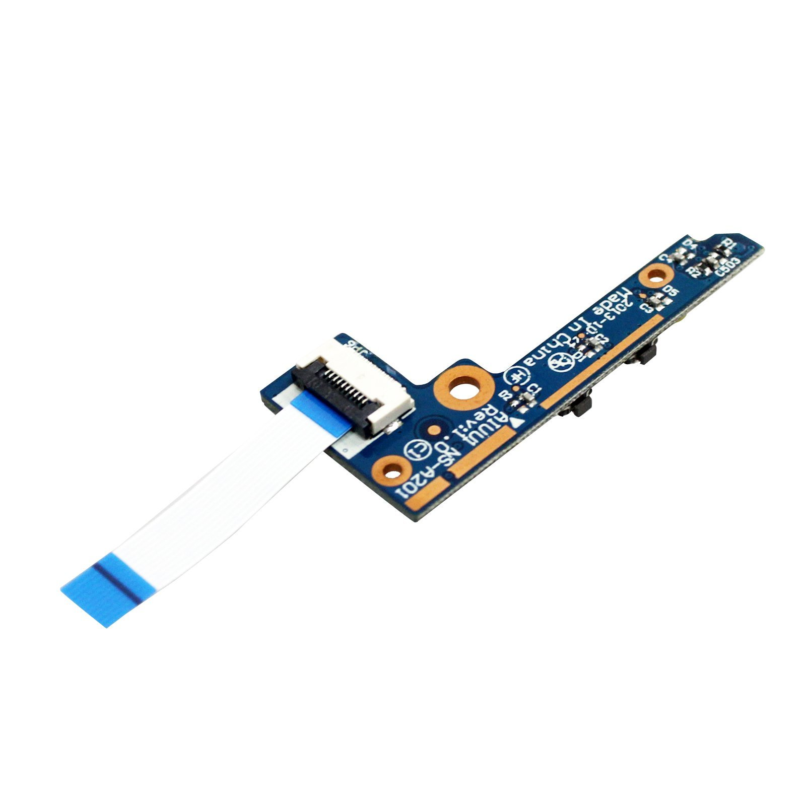 GinTai Power Button Board Cable NS-A201 Replacement for Lenovo Yoga 2 11 20332 20428 59417911 43508112001 90005666 by GinTai (Image #4)