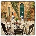 Rikki Knight 8943 Double Toggle Italian Backyard In Tuscany Design Light Switch Plate