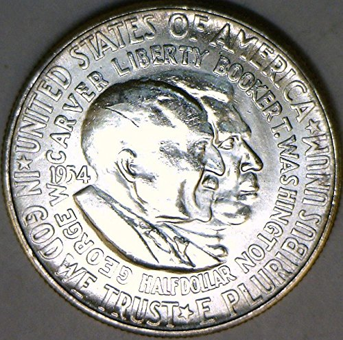 1954 S Washington-Carver Half Dollar Choice BU ()