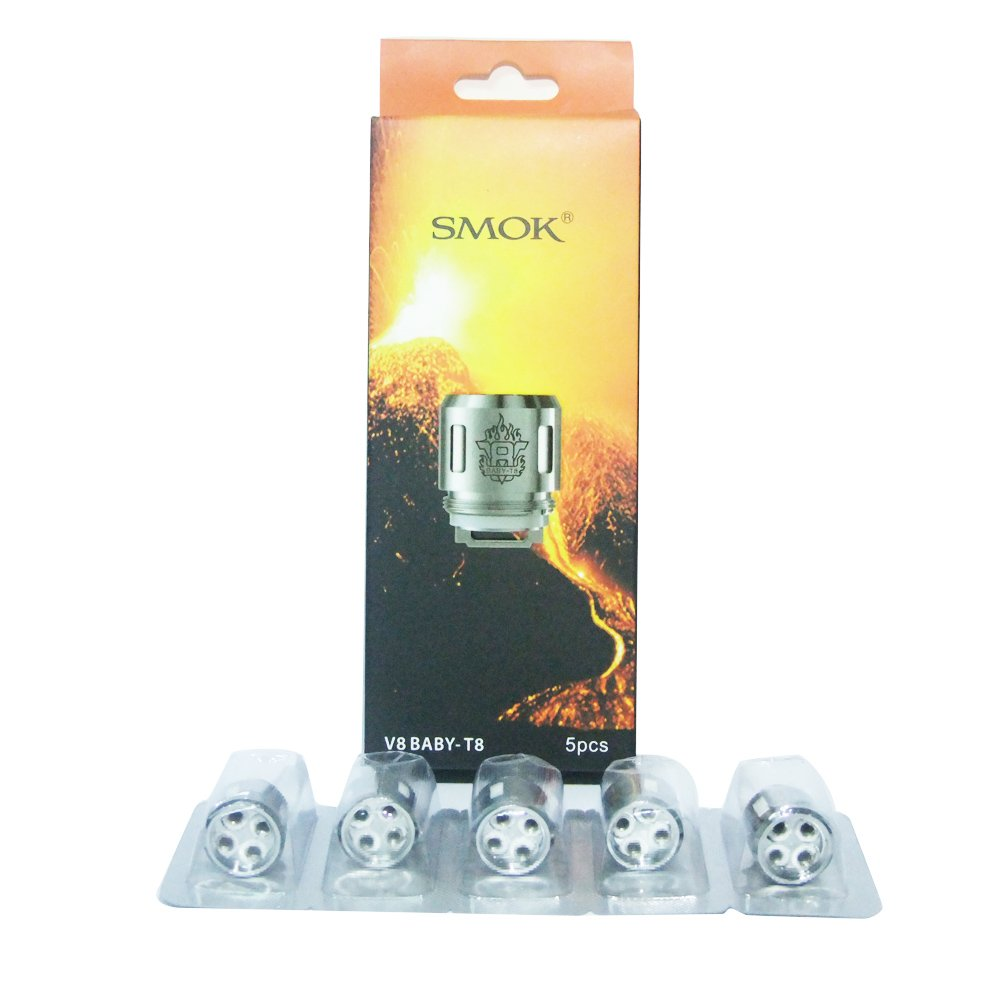 SMOK TFV8 Baby V8 - T8 0.15Ω 50W - 110W Sin Tabaco - Sin Nicotina