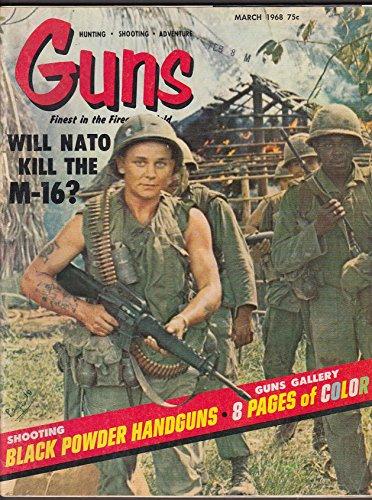 Winchester Handgun (GUNS NATO M-16 Black Powder Handguns 264 Winchester Hopkins & Allen 3 1968)