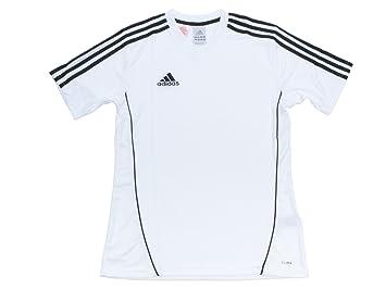 Camiseta adidas blanca y negra