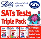 Letts Key Stage 2 SATs Tests Triple Pack (English,