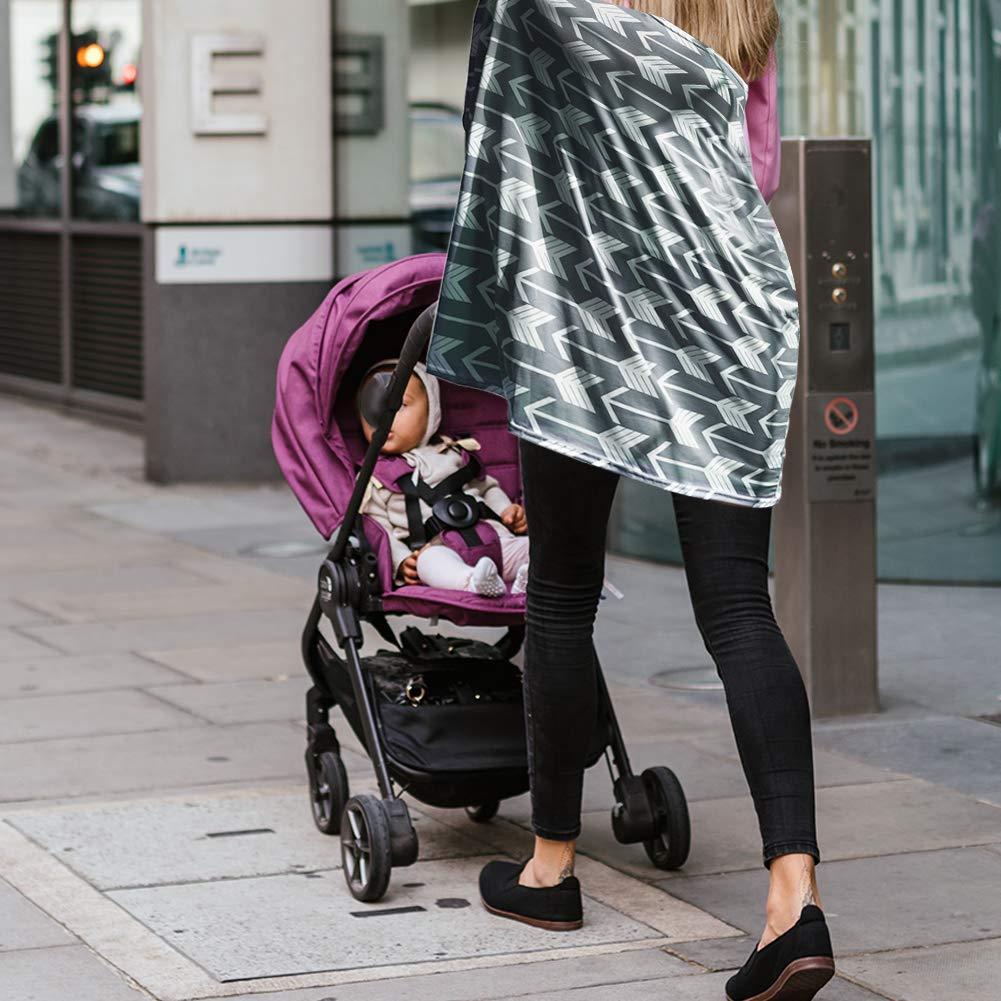 Poncho per Allattamento Anti-Insetti /& Protezione Beb/è Irich Breastfeeding Cover Passeggino Cover per Mamme Neonato Bambino