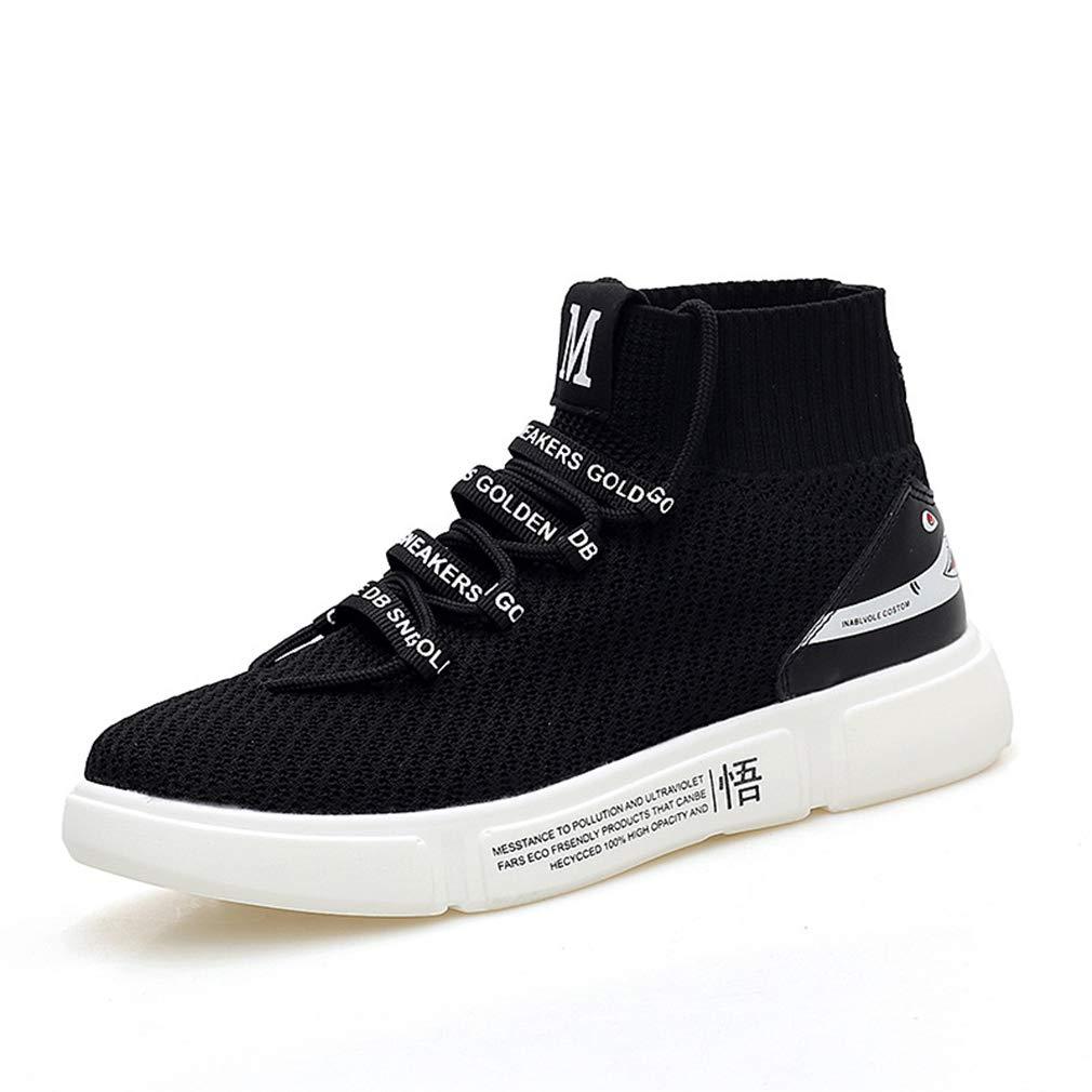 más orden YAN Zapatos de Mujer Malla Alto-Top Alto-Top Alto-Top Casual Zapatos elásticos Calcetines Zapatos Zapatos atléticos Entrenamiento Zapatos Negro blancoo,negro,42  precios bajos