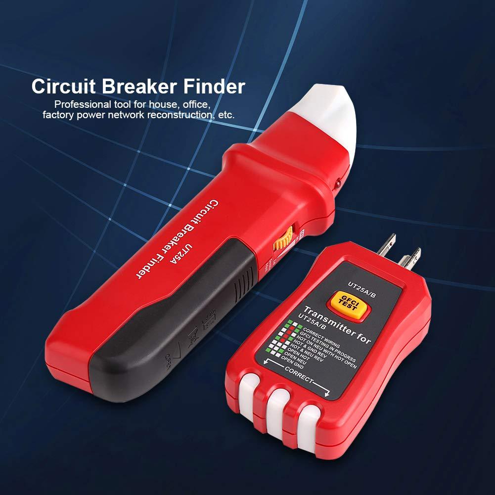 UNI-T Professional Automatic Circuit Breaker Finder Sensitivity with LED Indicator Adjustable Socket Tester Diagnostic-tool