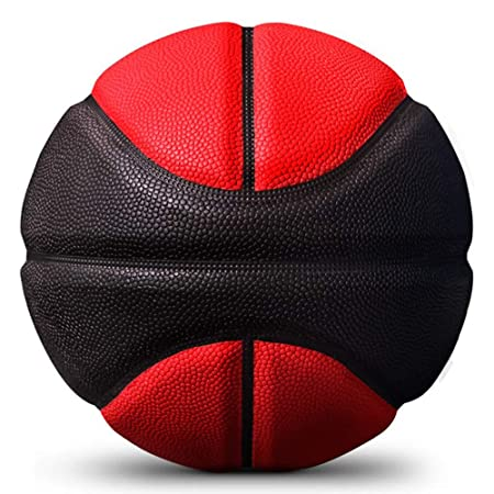 Kuangmi - Balón de Baloncesto, Talla 7, Color Rojo y Negro: Amazon ...