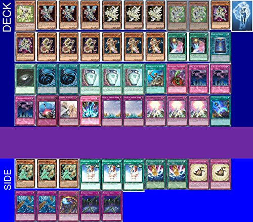 YUGIOH Tournament Ready Satellarknight Deck with Complete Side Deck and exclusive Phantasm Gaming Token