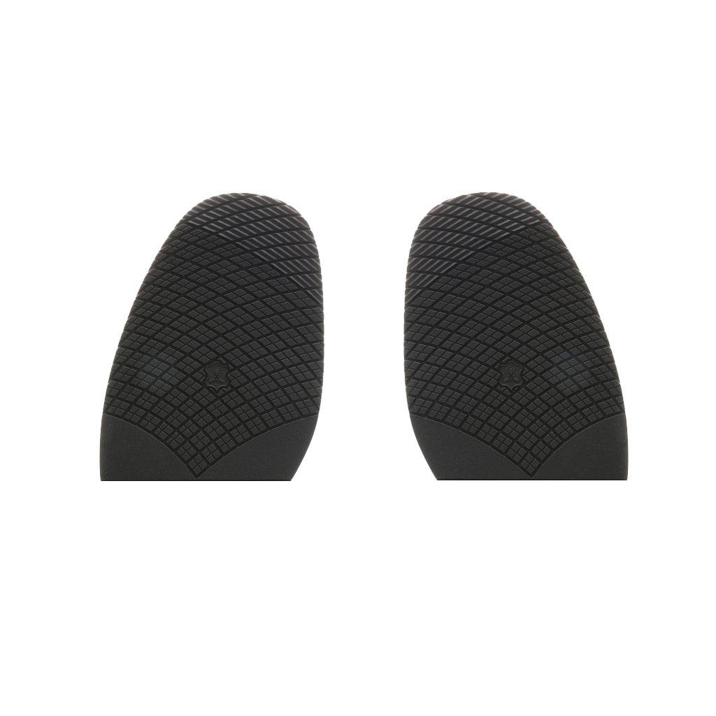 Rubber Half Soles Anti Slip Shoe Repair Black Thickness 2.5mm #1 Generic STK0155010482