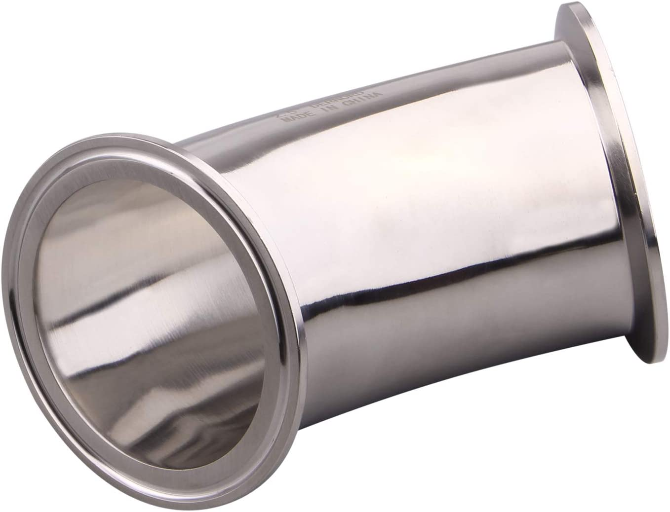 2 Inch Tube OD Stainless Steel 304 Pipe Fitting Fits Tri Clamp 2 inch DERNORD 45 Degree Elbow