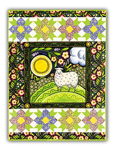 Quilt Kit   Wall Size   Four Seasons  Spring    Both Lion   Sheep Included