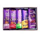 Cadbury Dairy Milk Silk Combo - Pack Of 5 270 Grams