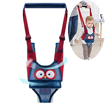 Handheld Baby Walking Assistant Harness Safety Reins Baby Walker Strap Helper
