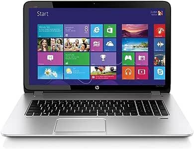 HP Envy 17-J115CL Notebook, Intel Core i5-4200M 2.5GHz, 6GB DDR3, 1TB SATA, 802.11n, Bluetooth, Win8.1, Silver, 17.3 Inches