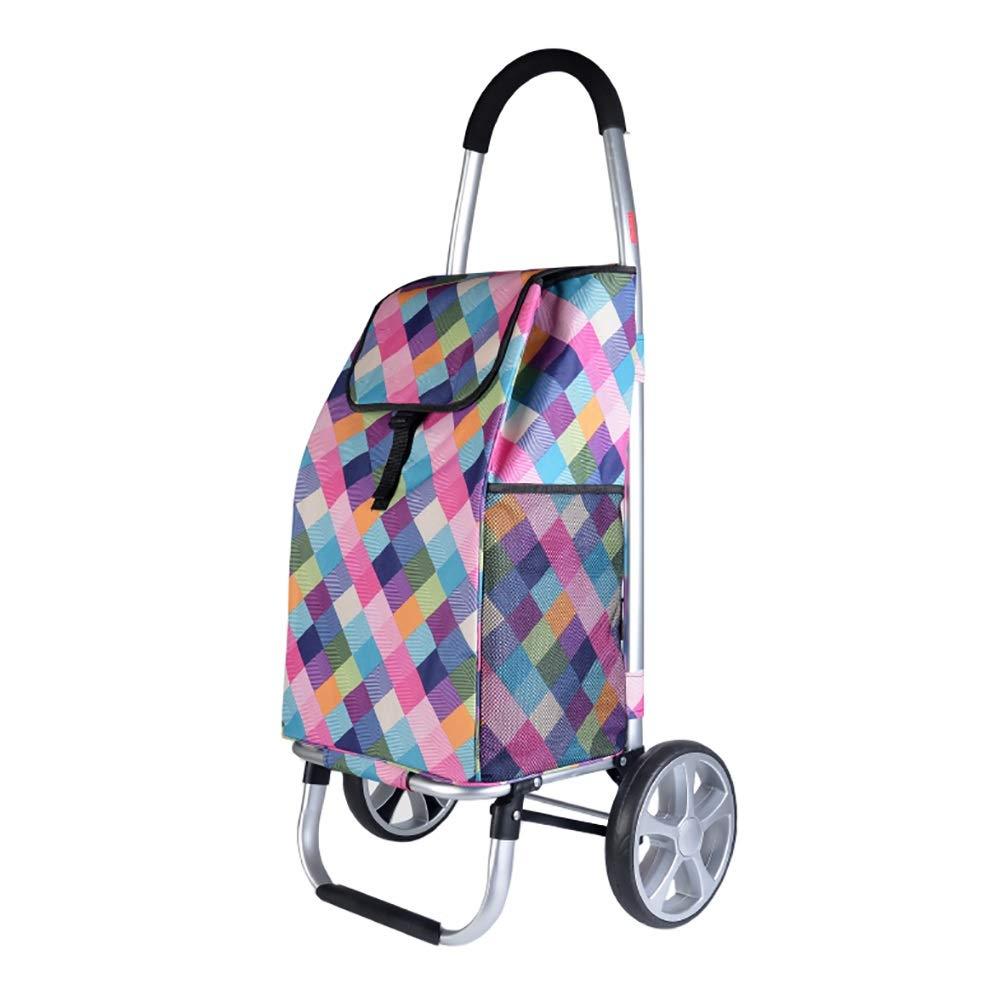 ショッピングキャリ ショッピングカート折りたたみトロリーDolly Movable Swivel Wheels多機能荷物トレーラー (色 : Style 3)  Style 3 B07GXB4CPX