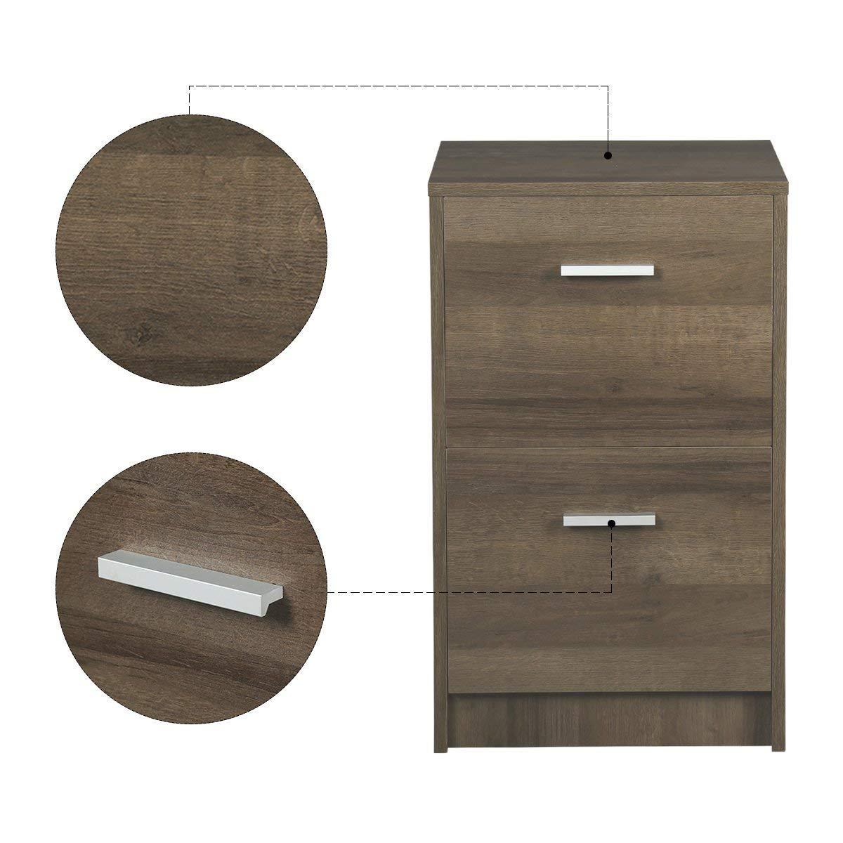 Amazon.com: DEVAISE - Archivador de madera (tamaño A4 ...