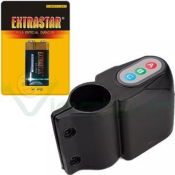 Alarma acústica Batería cadena código Candado antirrobo para ...