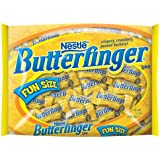 Nestle Butterfinger, , Fun Size Bigger Bag, 24-Ounce Bags (Pack of 4)