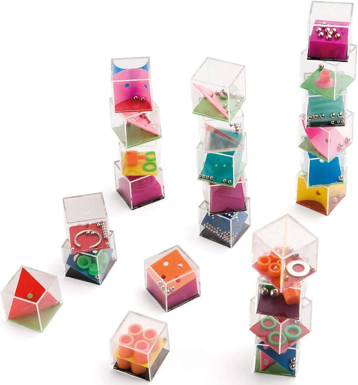 MIRVEN Lote de 24 Juegos de Habilidad - Juegos de Habilidad para niños, Adultos