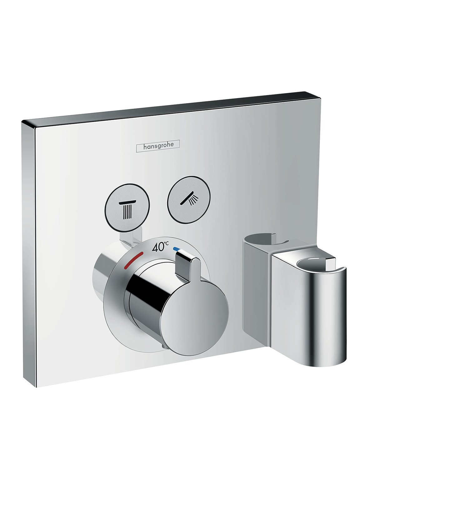 hansgrohe Thermostatic for concealed installation ShowerSelect FS 2 Verbraucher chrome m.Fixfit u.Porter by Hansgrohe