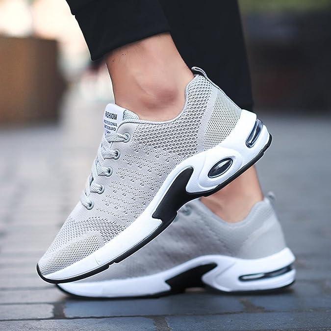 LUCKDE Sneakers Herren, Schuhe Jogging Fitnessschuhe