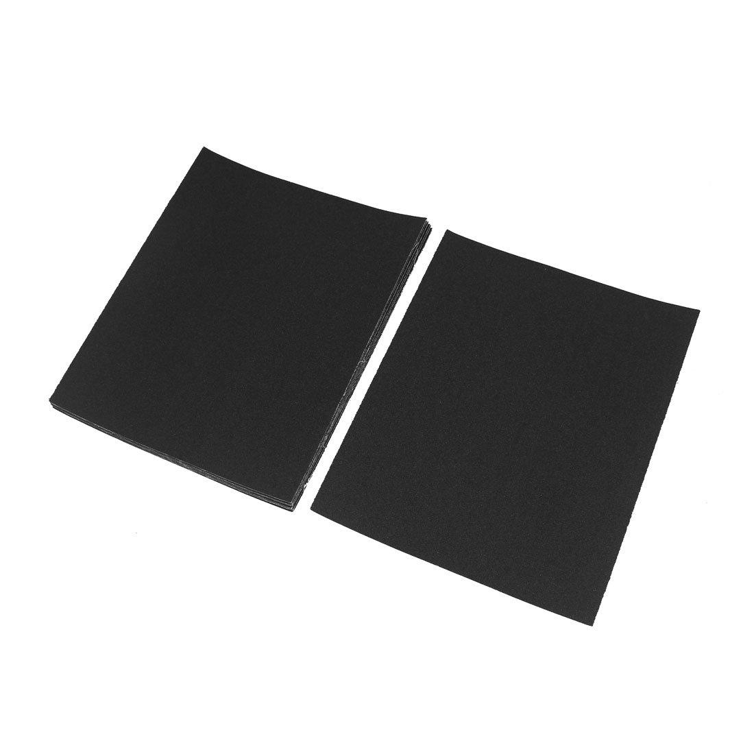 Aexit 120 Grit Abrasive Wheels & Discs Square Aluminum Oxide Sandpaper Sanding Sheets Gray Flap Wheels 10 Pcs