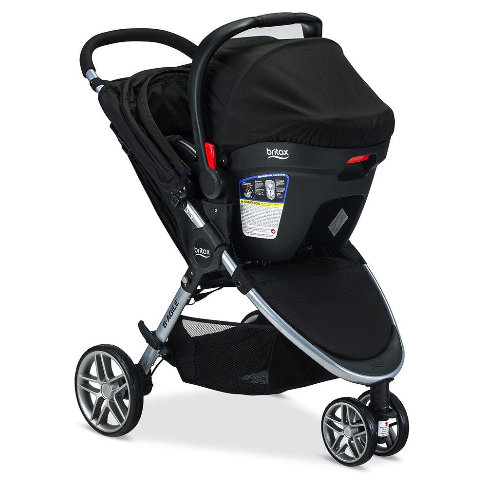 Amazon Britax 2017 B Agile Safe 35 Travel System Black Baby