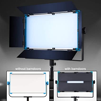 Light Stand for YouTube Studio Photography Yidoblo Dimmable RGBW 180W LED Video Light : 2800-9900K CRI 96+ LED Panel Remote,Smartphone APP Video Shooting A-2200C 2 Packs