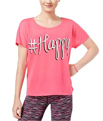 4d5a54602 Dreamworks Womens #Happy Graphic T-Shirt Pink S - Juniors at Amazon ...