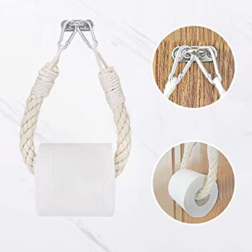 Toilettenpapierhalter Triangle Roll Papierhalter Holz Wandmontage Handtuchhalter