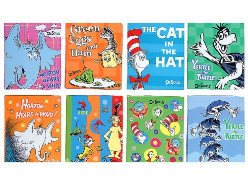 Dr Seuss Little Notebook Memo Assortment, 24 Pieces (66871) ()
