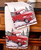 The Lakeside Collection Set of 2 Vintage Country Kitchen Towels