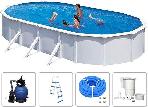 KWAD - Piscina con bomba de filtro, piscina de pared de acero ...