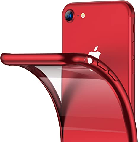 TPU Cover per iPhone 7 Custodia ZCRO Silicone Gel Trasparente
